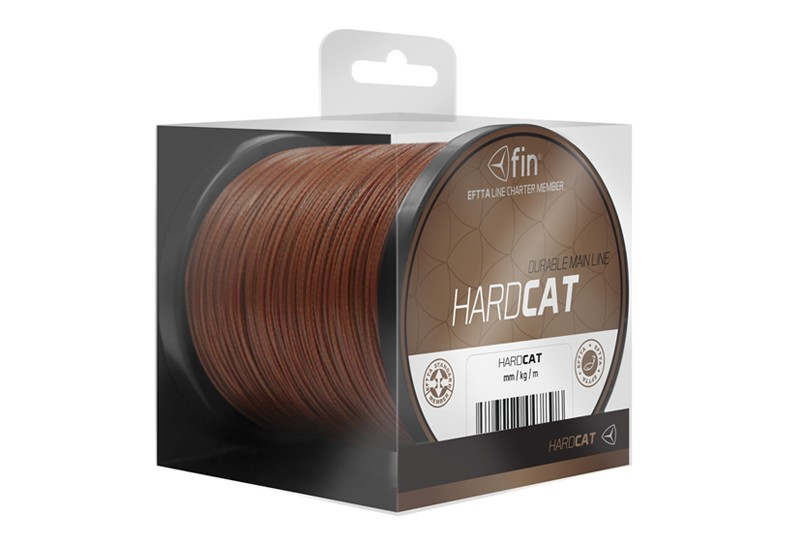 FIN HARD CAT main line 250m/červ.h 0,80mm 78,2kg