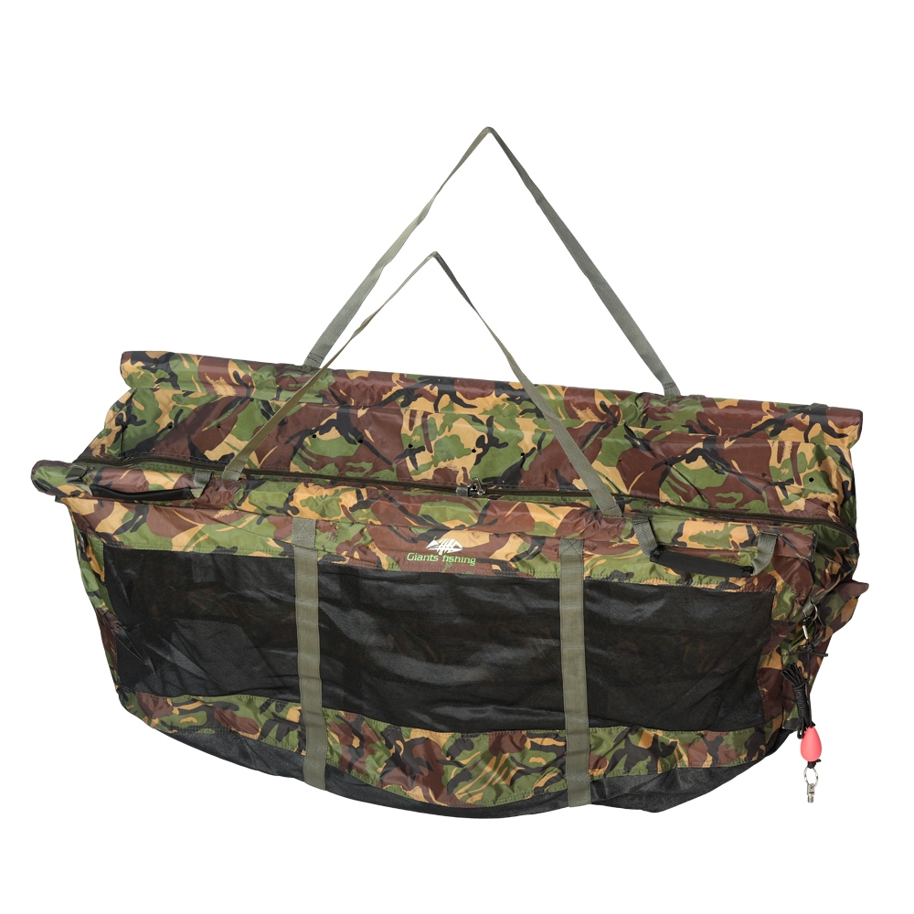 Giants Fishing Vážící sak plovoucí Weigh Sling Floating Luxury Camo XL