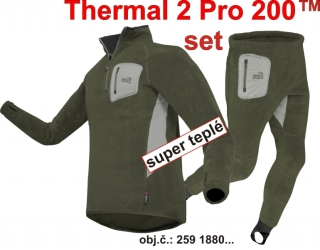 Geoff Anderson Thermal 2 PRO 200 SET (RosinGreen)