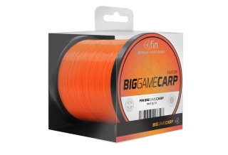 FIN BIG GAME CARP 4000m/oranž 0,35mm 17lbs